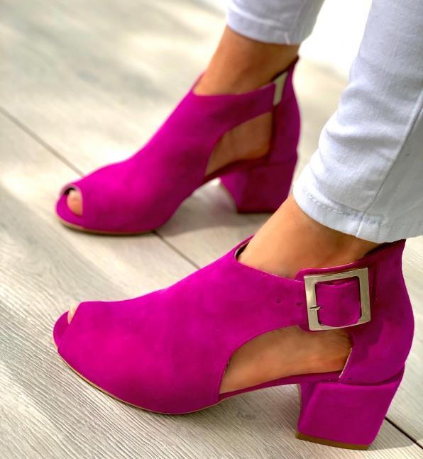 Sandały damskie skórzane 3512/G03