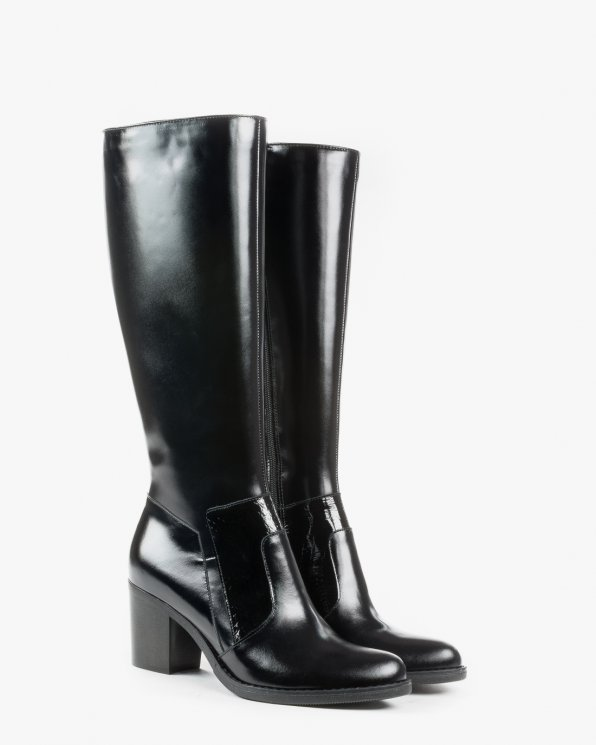 Kozaki czarne 2187/A89/C68