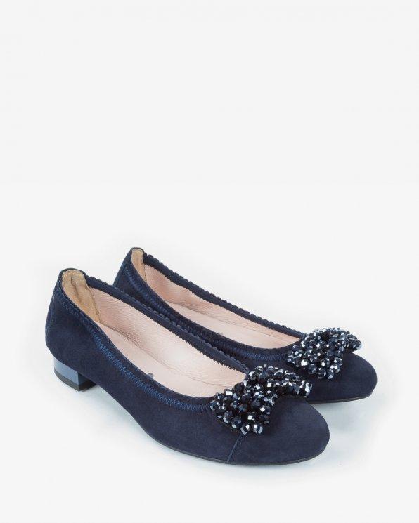 Czarne baleriny 2250/859