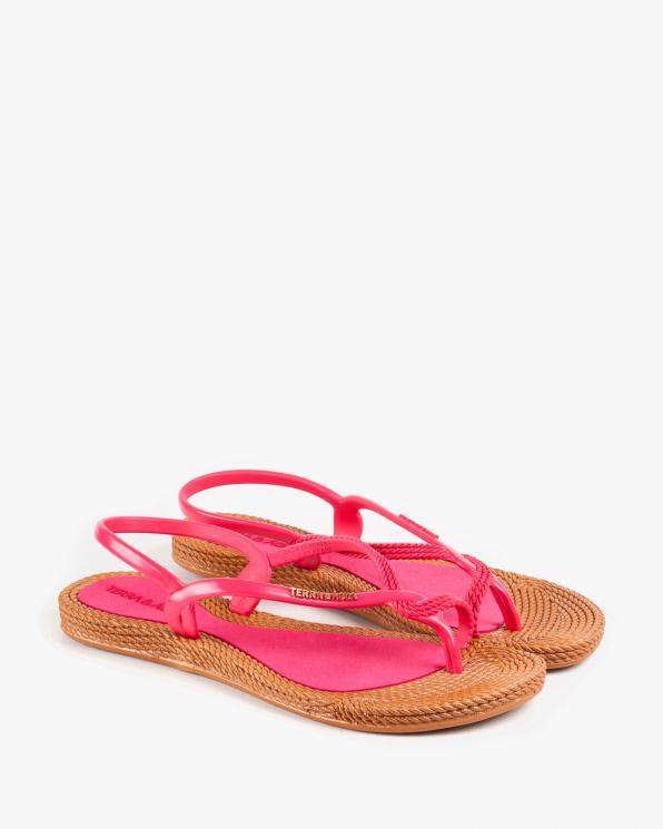 Różowe sandały damskie KON260100/WATERMEL/CAR