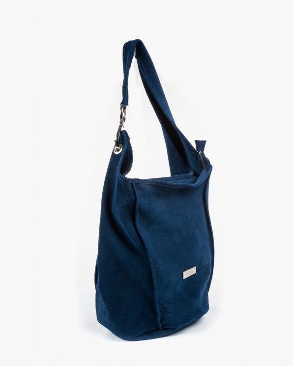 Skórzana torebka damska RBSA156/J.GRANAT