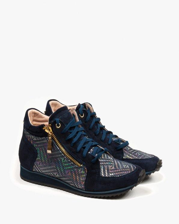 Granatowe sneakersy damskie 2107/859/B17