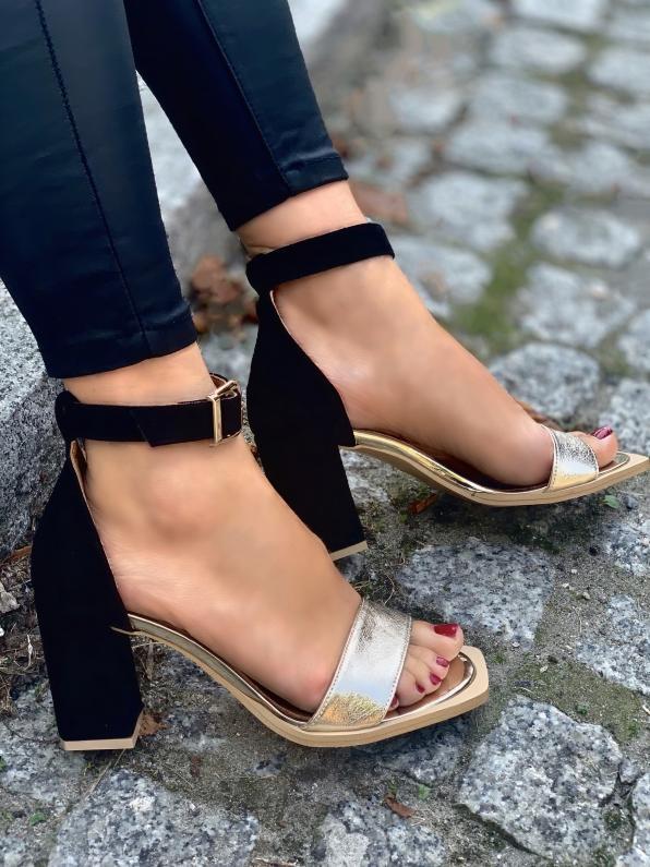 Sandały damskie skórzane 3387/F96/147/A38