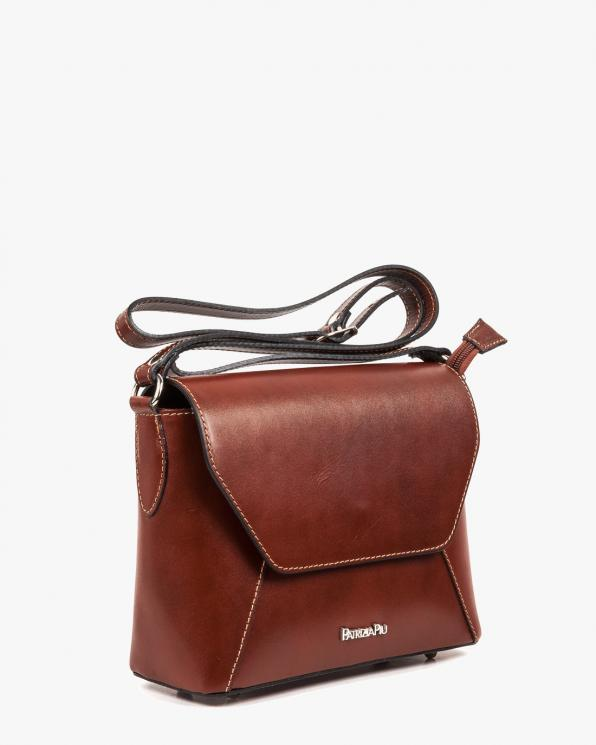 Brązowa torebka damska skórzana GRE05-004/BRĄZOWY