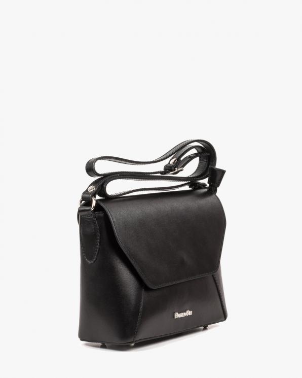 Czarna torebka damska skórzana GRE05-004/CZARNY