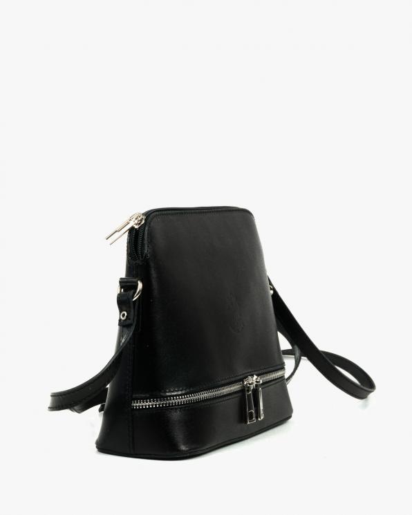 Czarna torebka damska skórzana GRE510/CZARNY