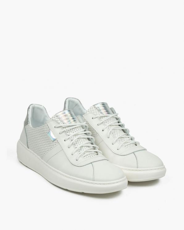 Białe adidasy damskie skórzane 3391/534/G44/G49