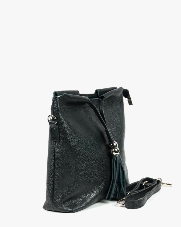 Czarna torebka damska skórzana GRE419-036/CZARNY