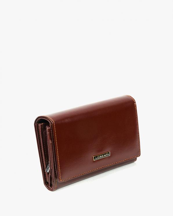 Brązowy portfel damski skórzany GRE76112-YL/BRĄZOWY