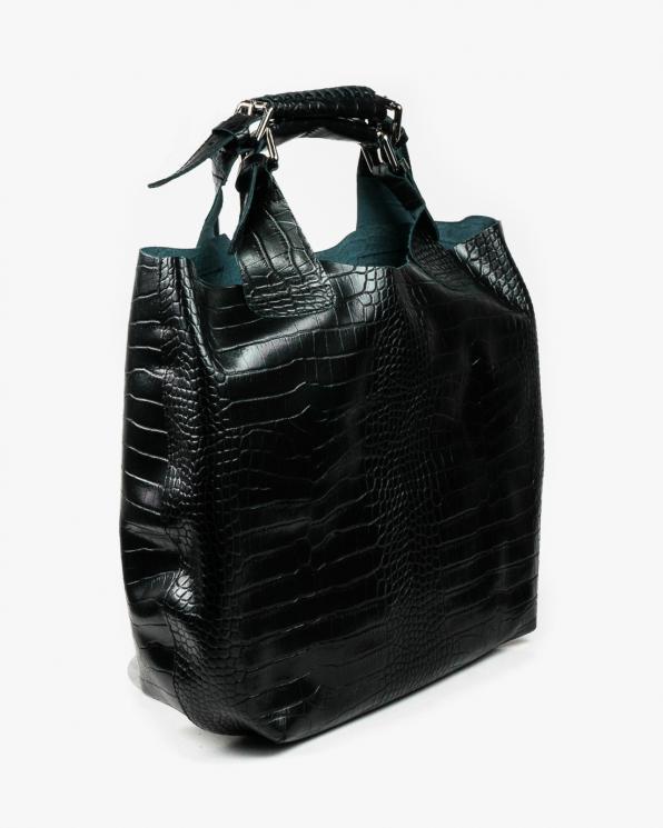 Czarna torebka damska skórzana GRE19-12COCO/CZARNY