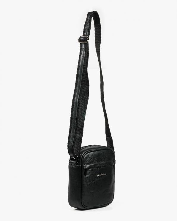 Czarna torba męska skórzana GRE5021-NDM-PA/CZARNY