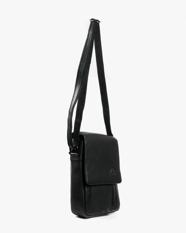 Czarna torba męska skórzana GRE1705-NDM/CZARNY