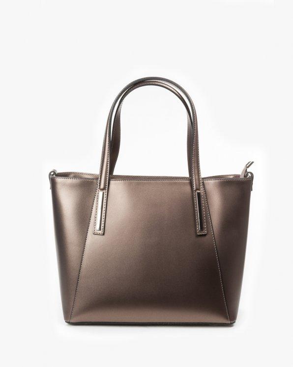 Skórzana torebka damska RBS/A66/M C.ZŁOTO