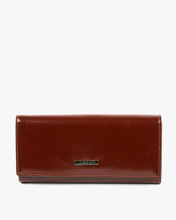 Brązowy portfel damski skórzany GRE72401-YL/BRĄZOWY