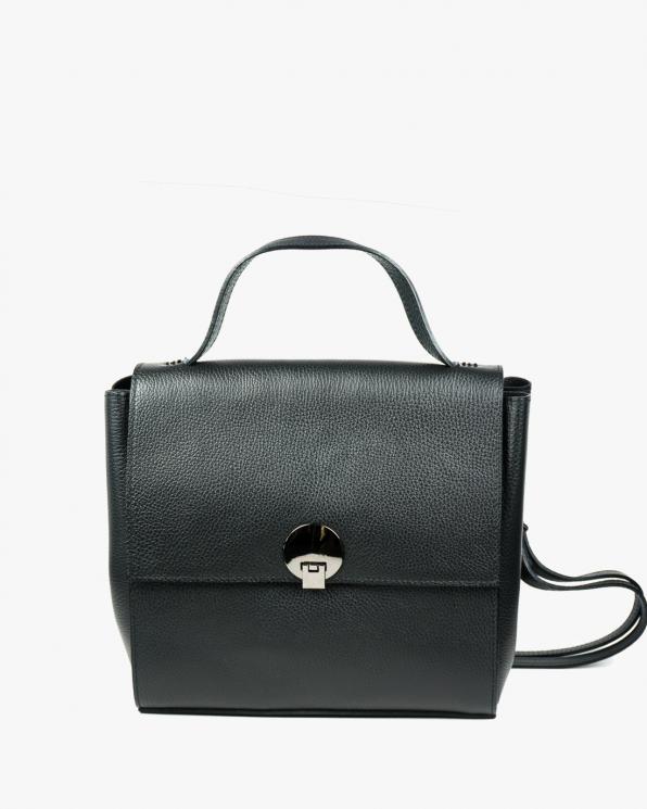 Czarna torebka damska skórzana GRE418-061/CZARNY