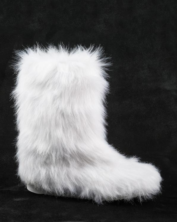 Śniegowce białe damskie 2488/D86