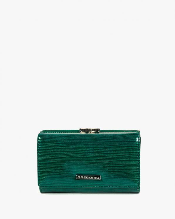 Zielony portfel damski skórzany GRELN-108/ZIELONY