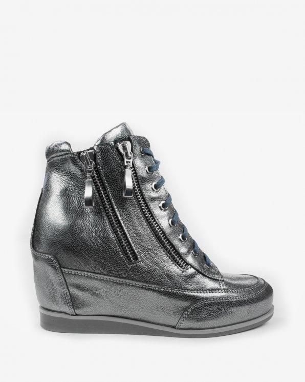 Srebrne sneakersy 2111/A68