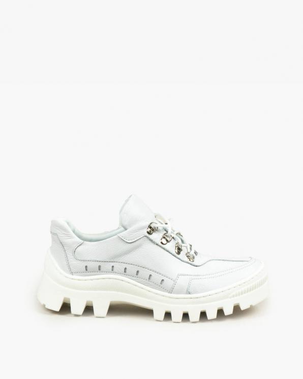 Białe trampki damskie skórzane 3480/G02