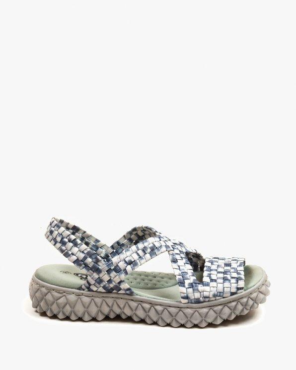 Kolorowe sandały damskie ROCMAREA/WHITE/GREY