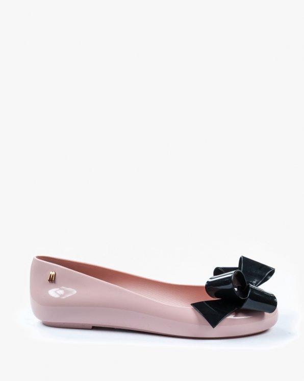 Różowe baleriny damskie MEL/31954/51647/P.BLA