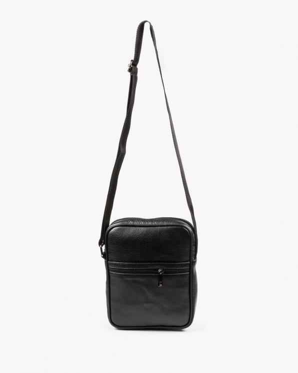 Skórzana torebka damska RBS16100/CZARNY
