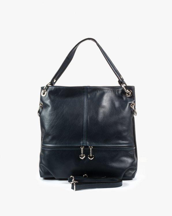 Skórzana torebka damska RBS1014/GRANAT