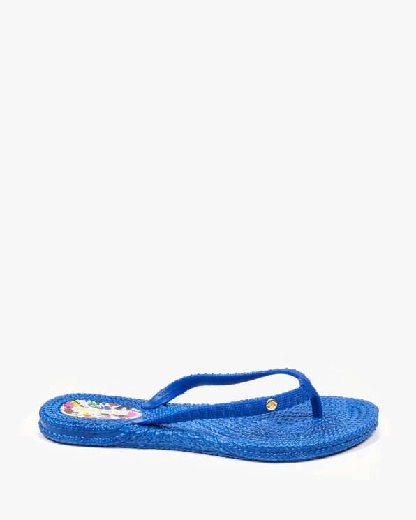 Niebieskie klapki damskie KONR240700PV/BLUE