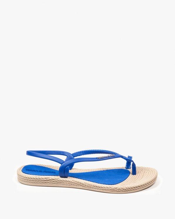 Niebieskie sandały damskie KONR260100PV/BLUE