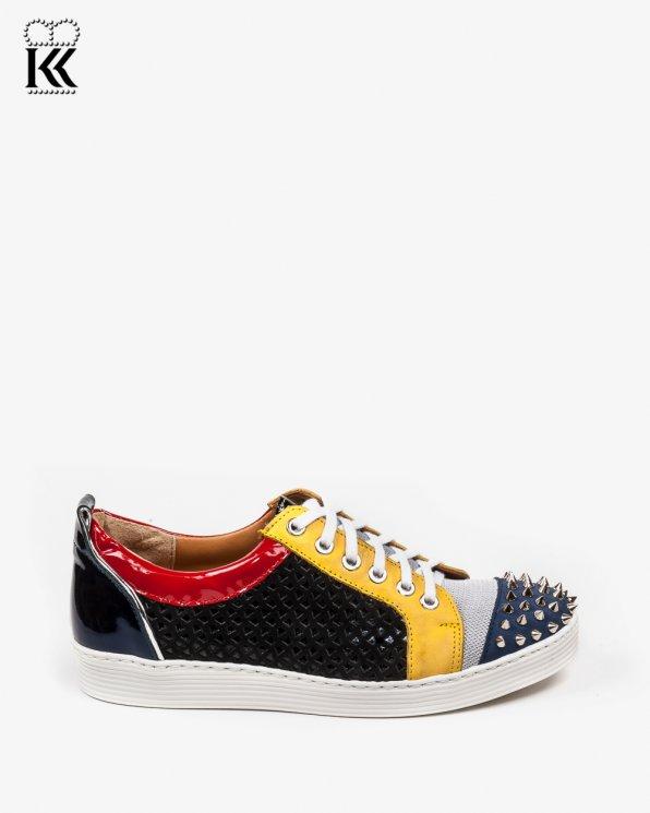 Kolorowy adidas damskie skórzane 2566/667/B51/B22/D72