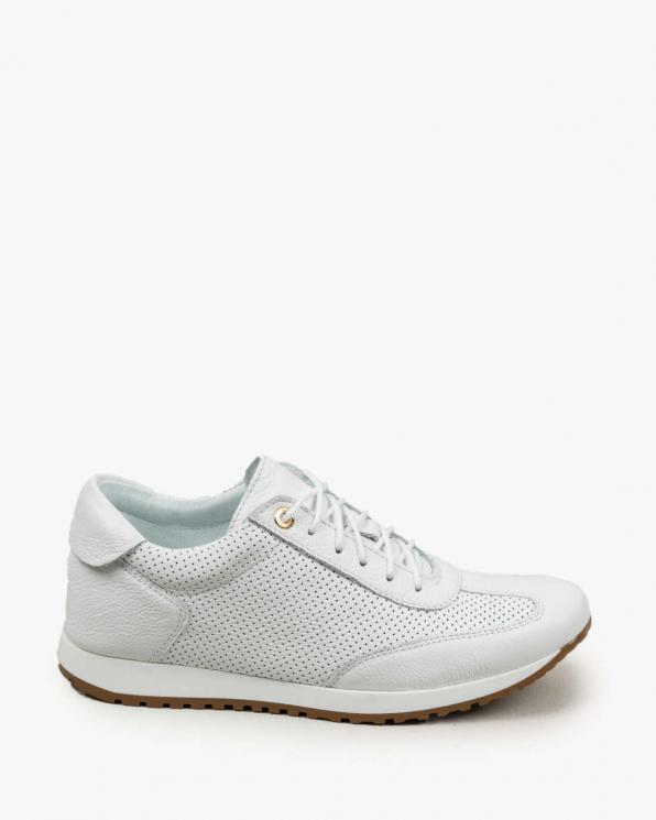 Białe adidasy damskie skórzane 3483/G02