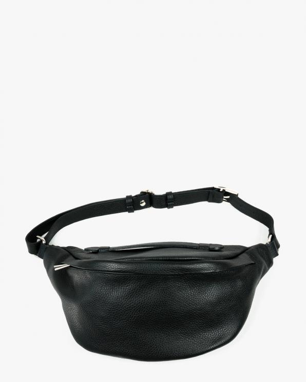 Czarna torebka damska skórzana GRE418-092/CZARNY