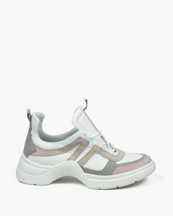 Białe adidasy damskie skórzane  3148/E98/534/952/E99/01