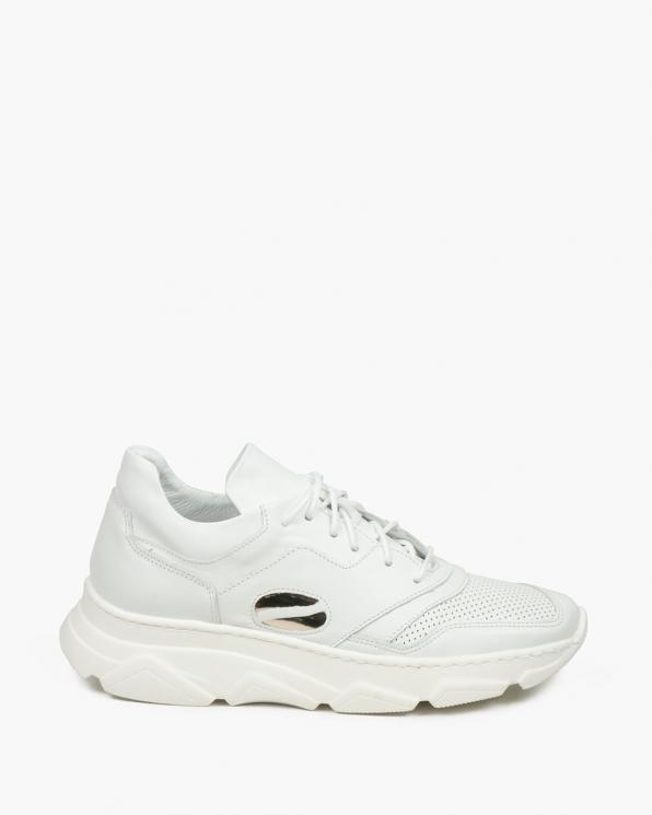 Białe adidasy damskie skórzane 3441/534/A38