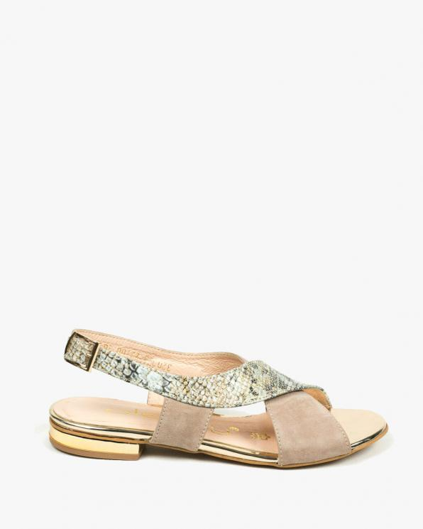 Sandały damskie skórzane 3203/E99/G24/A38