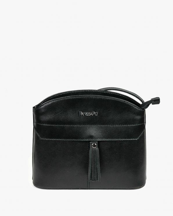 Czarna torebka damska skórzana GRE05-002/CZARNY