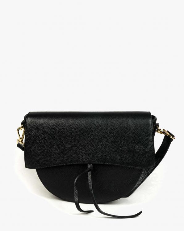 Czarna torebka damska skórzana GRE417-005/CZARNY