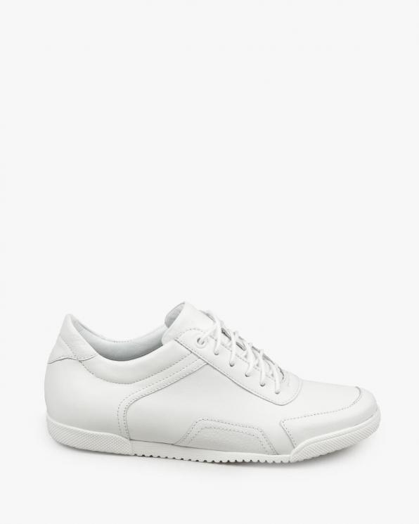 Białe trampki damskie skórzane 3225/G02/534