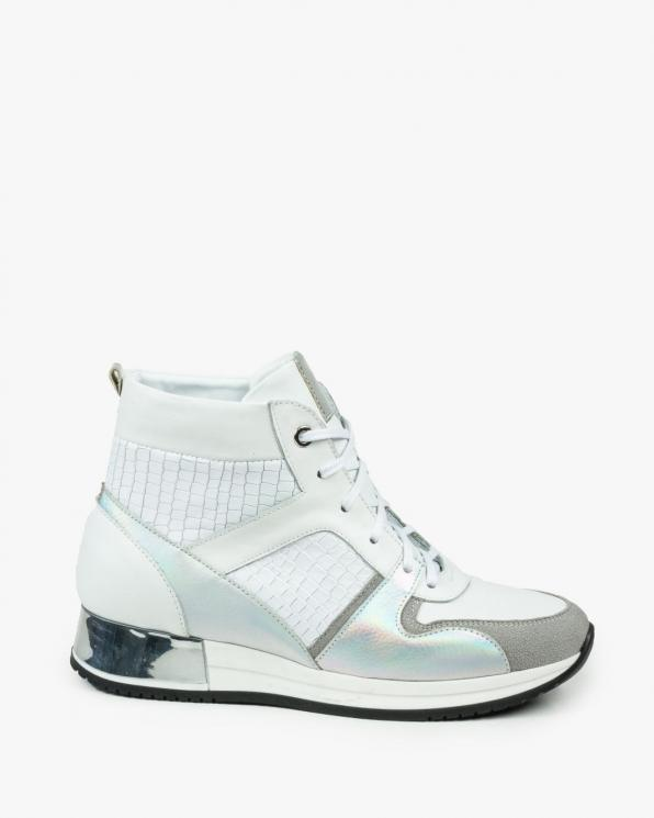 Białe adidasy damskie skórzane 3207/952/534/G06/F82