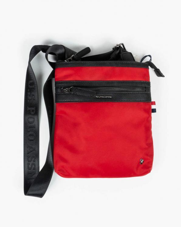 Czerwona torebka męska ATTBEUDT0532MIP400/RED