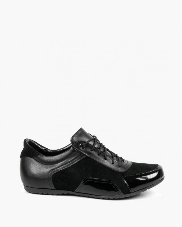Czarne adidasy damskie skórzane 3362/542/A89/147