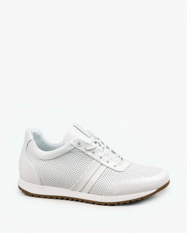 Białe adidasy damskie skórzane 3426/534