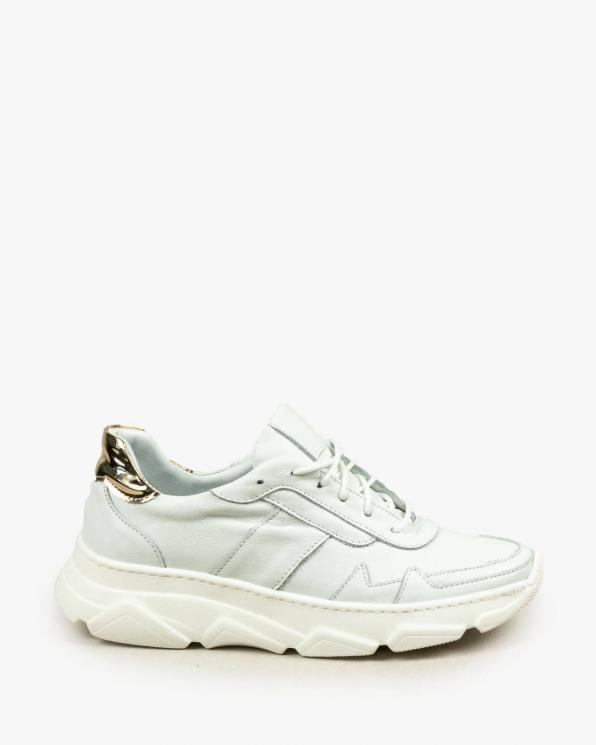 Białe adidasy damskie skórzane 3176/534/A38